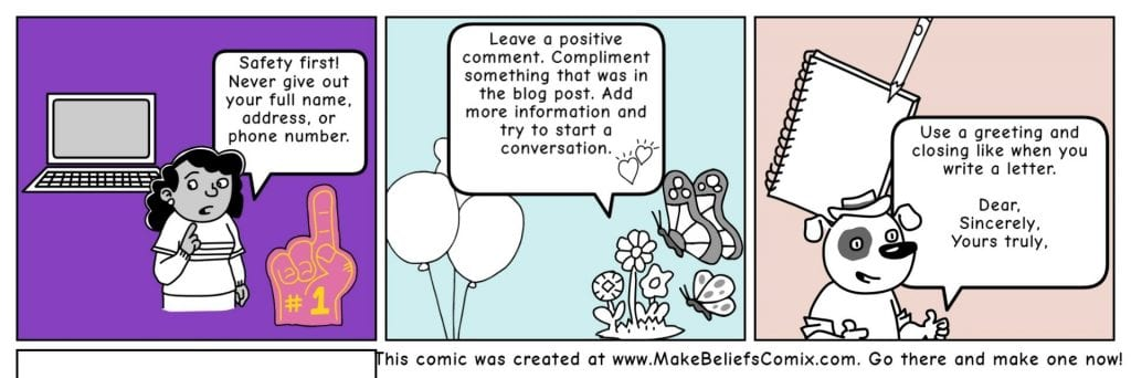 Commenting Comic