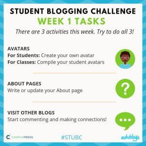 STBC Week 1 Activities